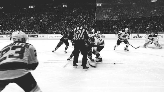 Hockey Blackandwhite Monochrome Columbus Bluejackets Enjoying Life Taking Photos