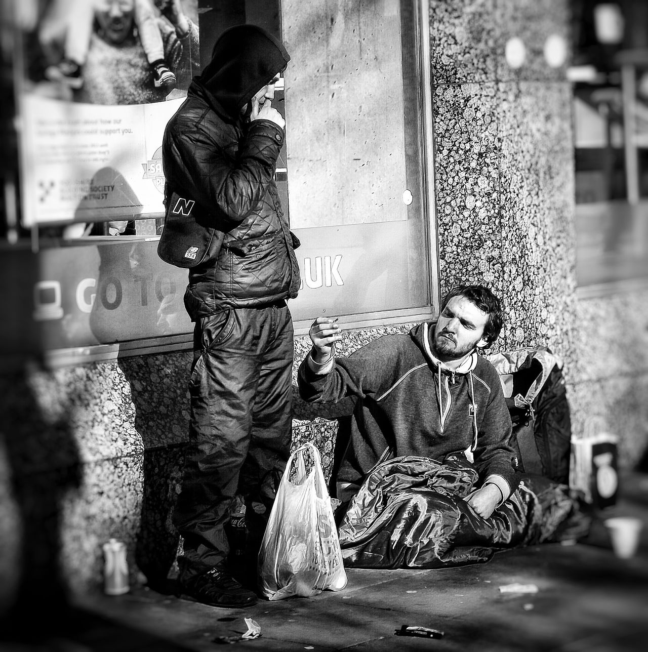Another capture in my series people of Manchester and Homeless of Manchester UK People Of Manchester Taking Photos Black & White Photography Black And White Photography People Photography Black And White Collection  Street Photography Black & White Monochrome EyeEm Best Shots - Black + White Urban Life City Life Streetphoto_bw Eyeem Streetphotography Homeless Of Manchester Uk Homeless People Watching Creative Light And Shadow Shades Of Grey Black And White Photography Monocrome Homeless People HDR Fujifilm Bnw_collection Photojournalist Eyeem 2016 Street Photography - EyeEm Awards 2016 EyeEm Documentary Photography Telling Stories Differently