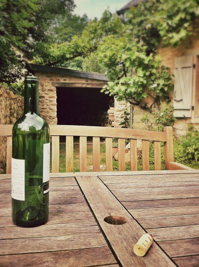 France Drinks Relaxing Enjoying Life