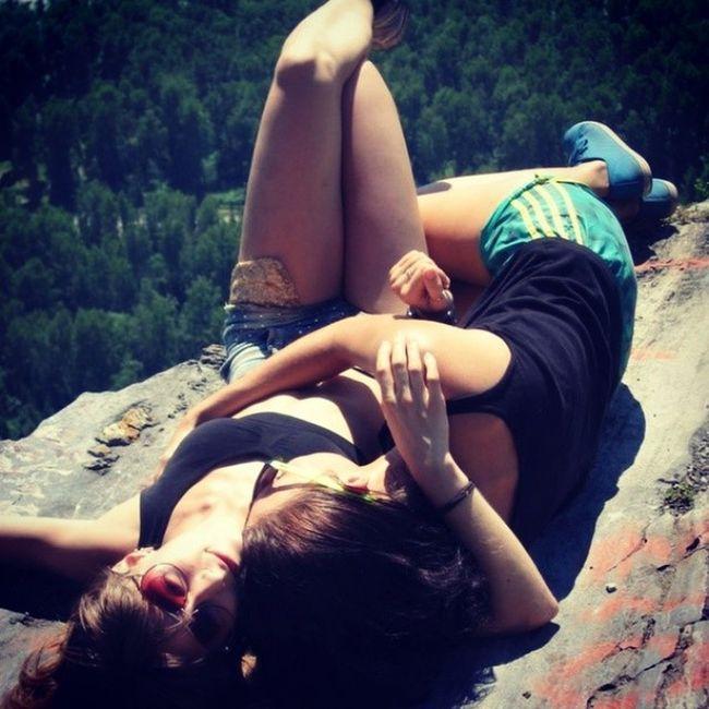 Моя любимая Леличка)) любовь подруга горный