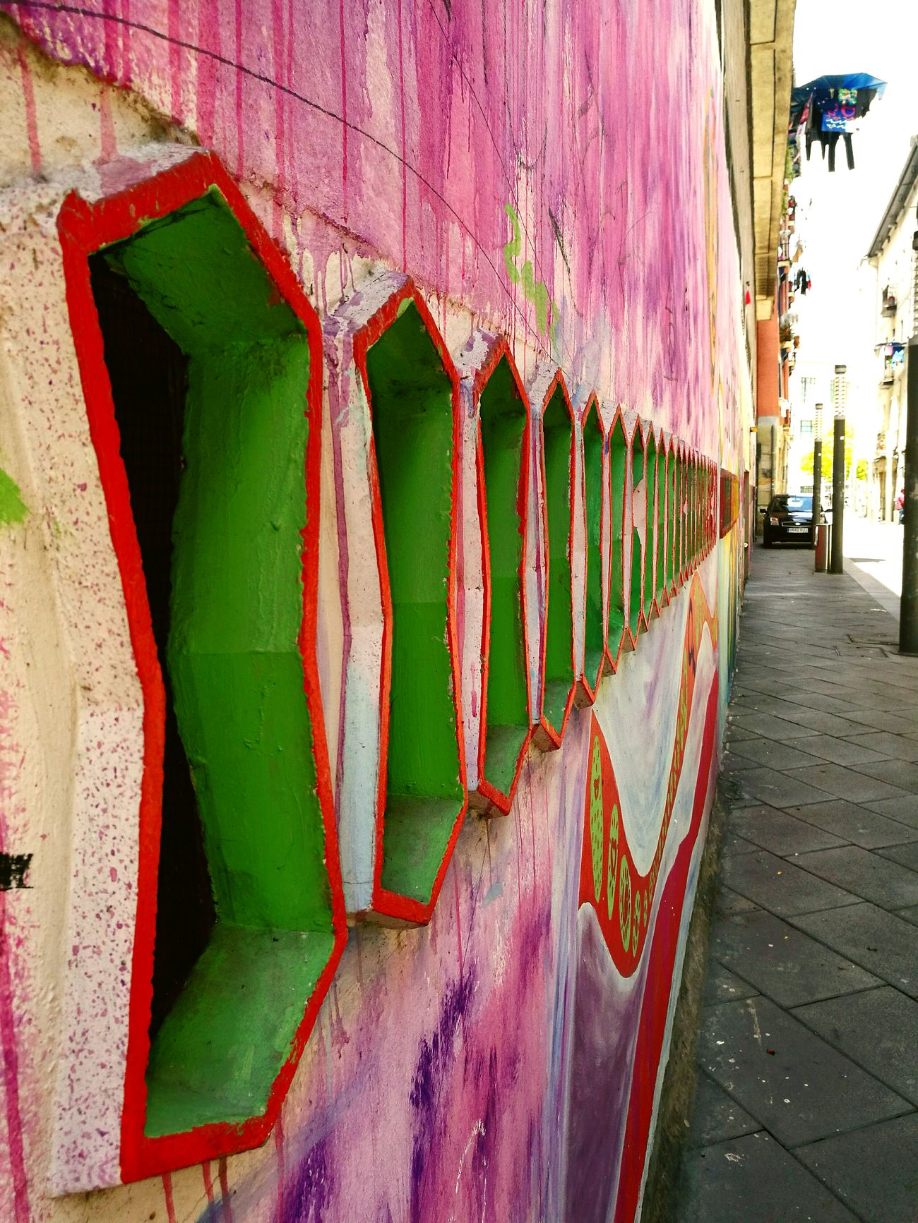 Taking Photos Walking Around Bilbaolovers Wallstreet Wall Art