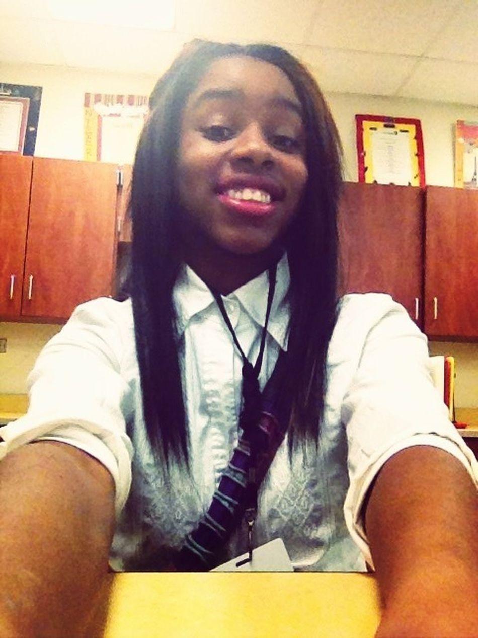 I smile because I'm happy lol ☺