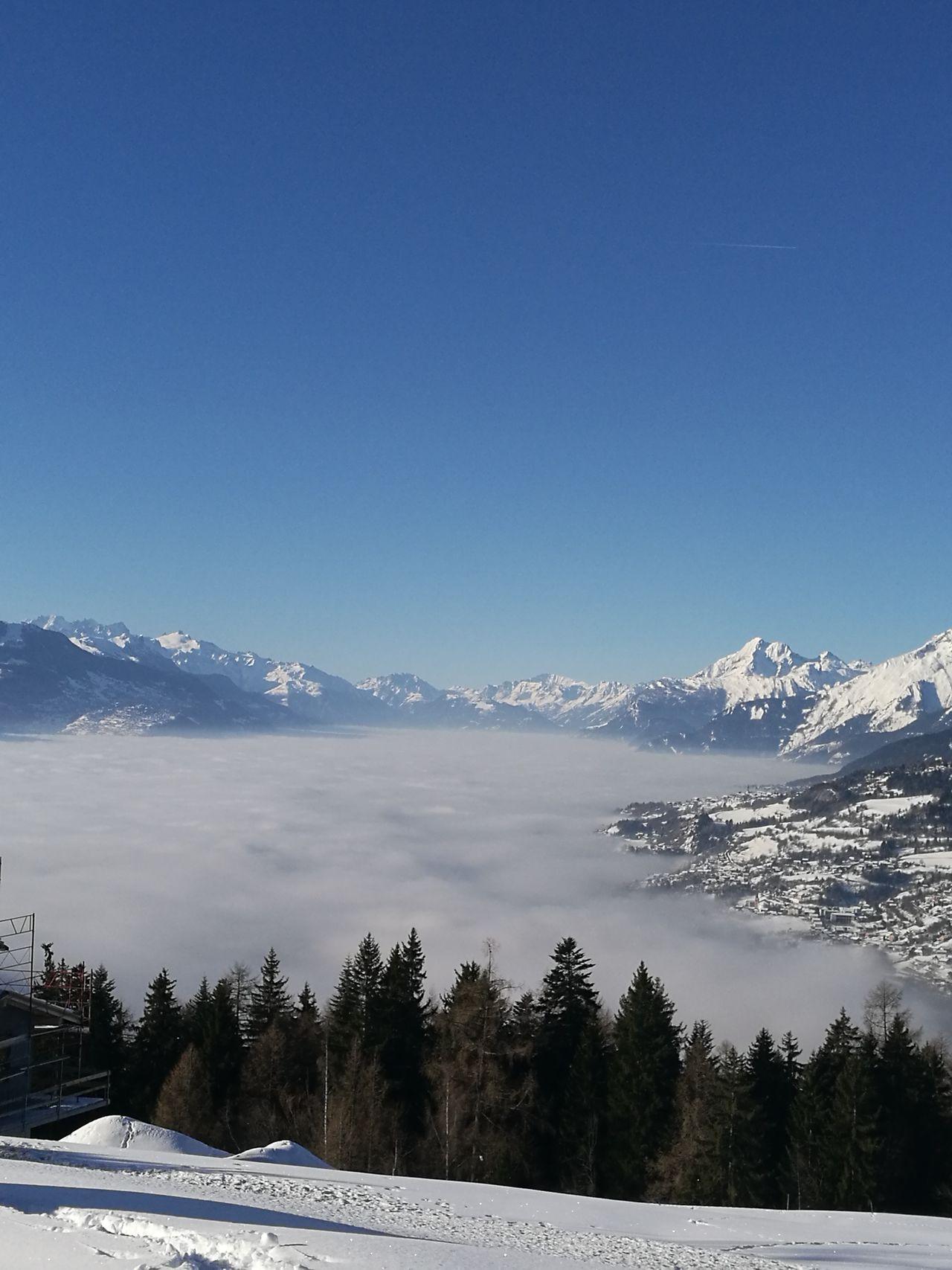 Un lac de nuages