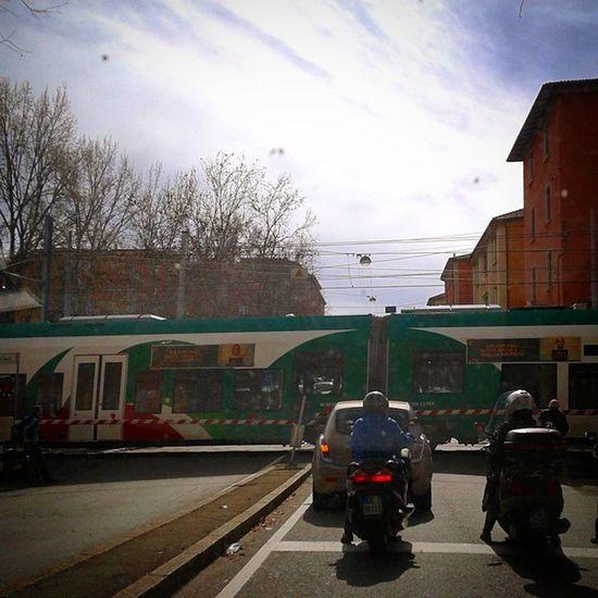 Street Train Treno Strada Ig_bologna Igersbologna Bologna Vivobologna Viverebologna ... mobilità!!!
