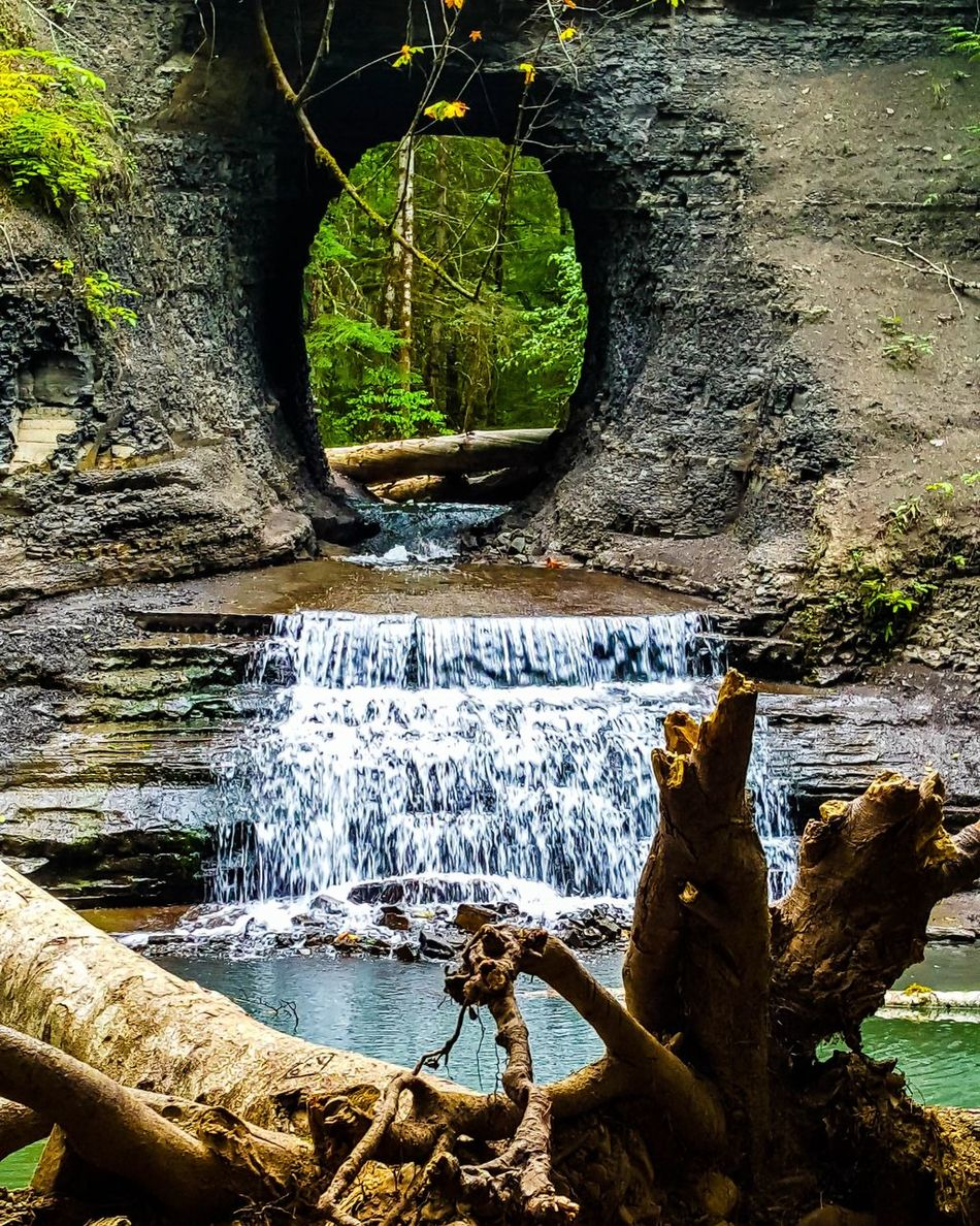 Two Is Better Than One From one side of beauty to another, Hole in the Wall Falls