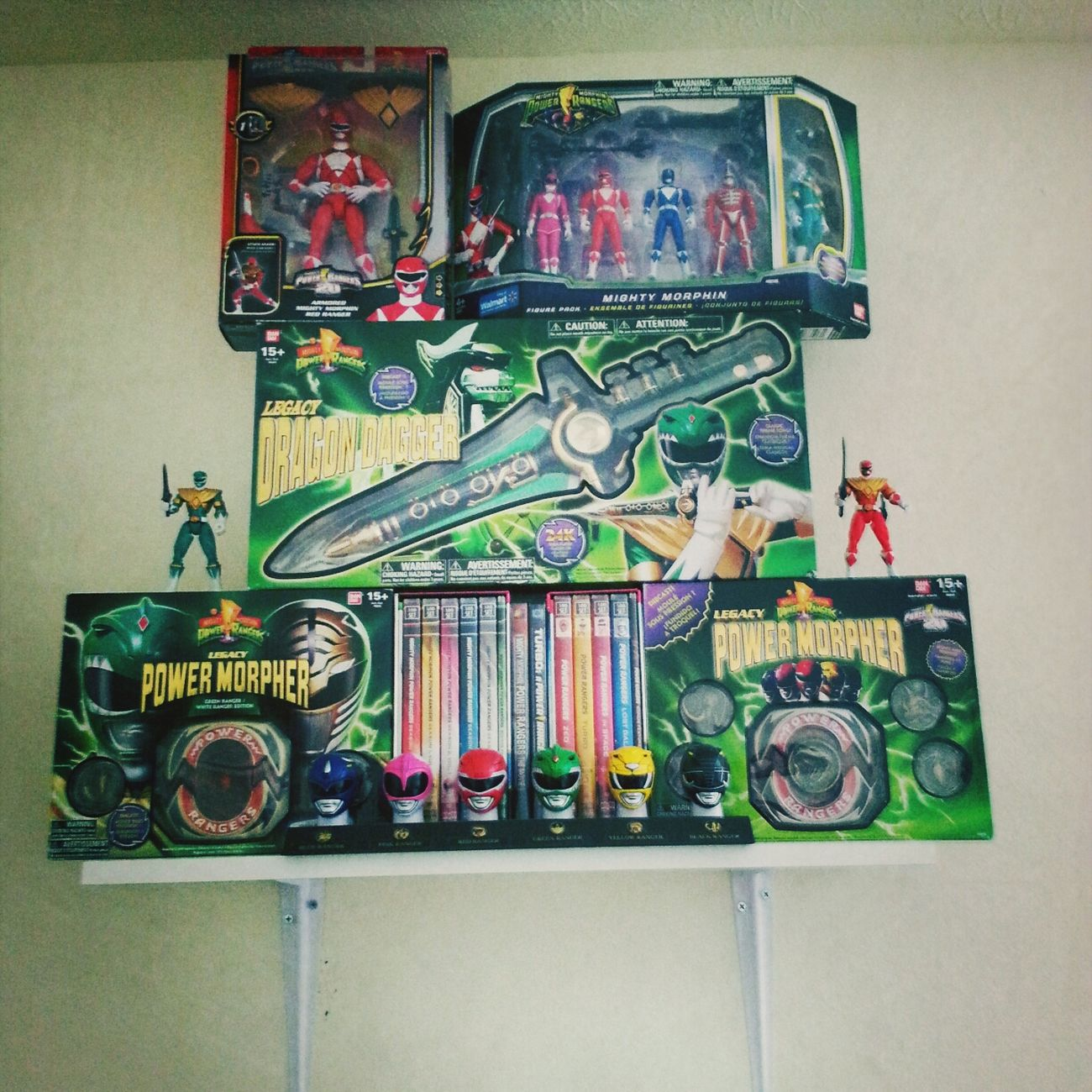 Power Rangers Toys 90's