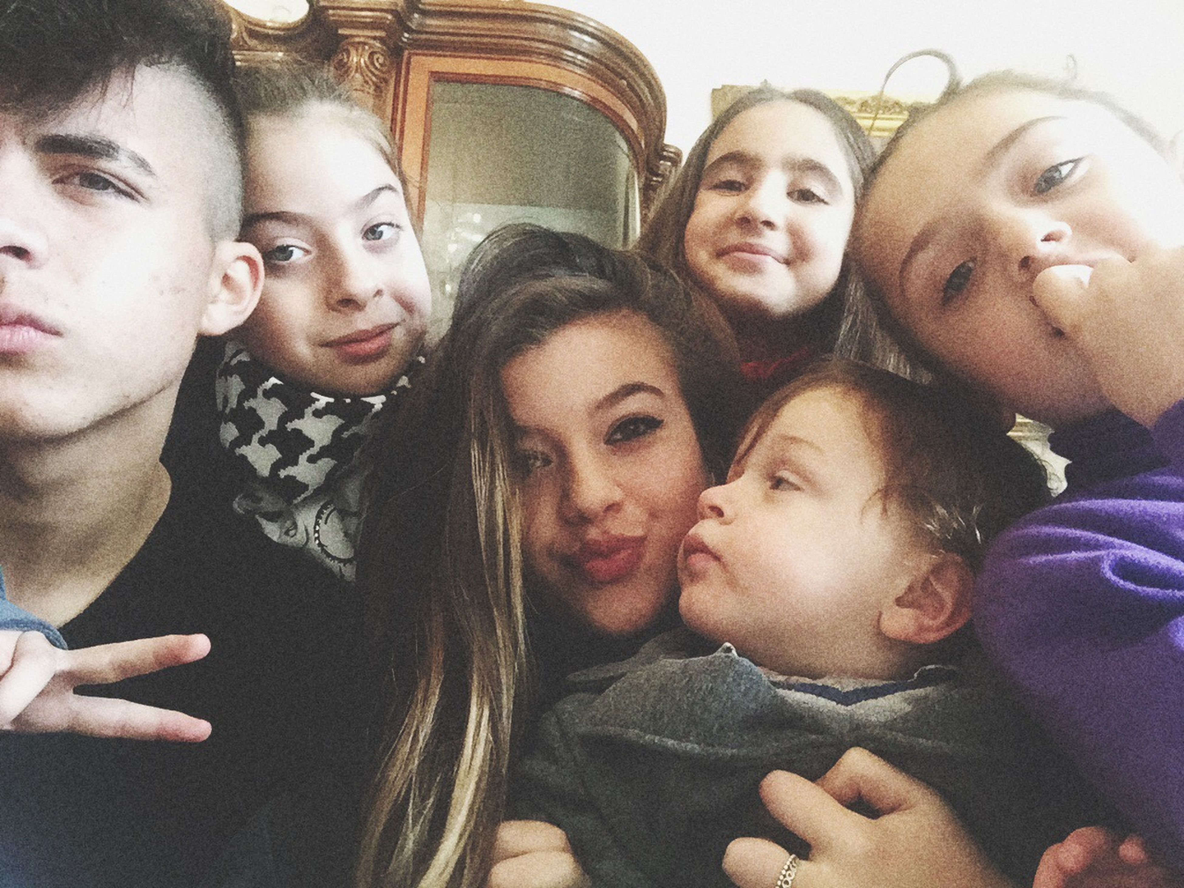 togetherness, bonding, person, lifestyles, love, leisure activity, family, young adult, friendship, indoors, happiness, portrait, smiling, mother, young women, family with one child, looking at camera