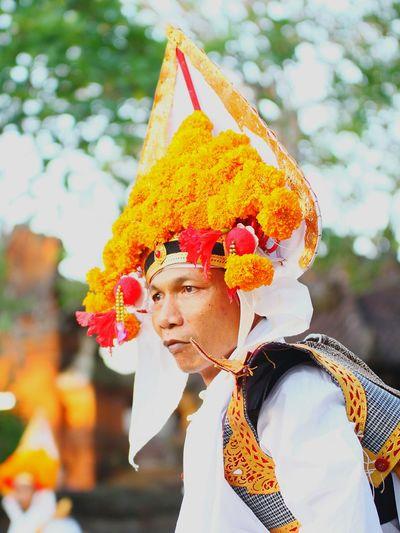 Traditional 'Baris' dancer Uniqueness One Man Only One Person Outdoors Adult Portrait Portrait Of A Man  Traditional Culture Traditional Costume Balinese Dancer Colour Portrait Week On Eyeem EyeEm Indonesia Bali, Indonesia The Portraitist - 2017 EyeEm Awards