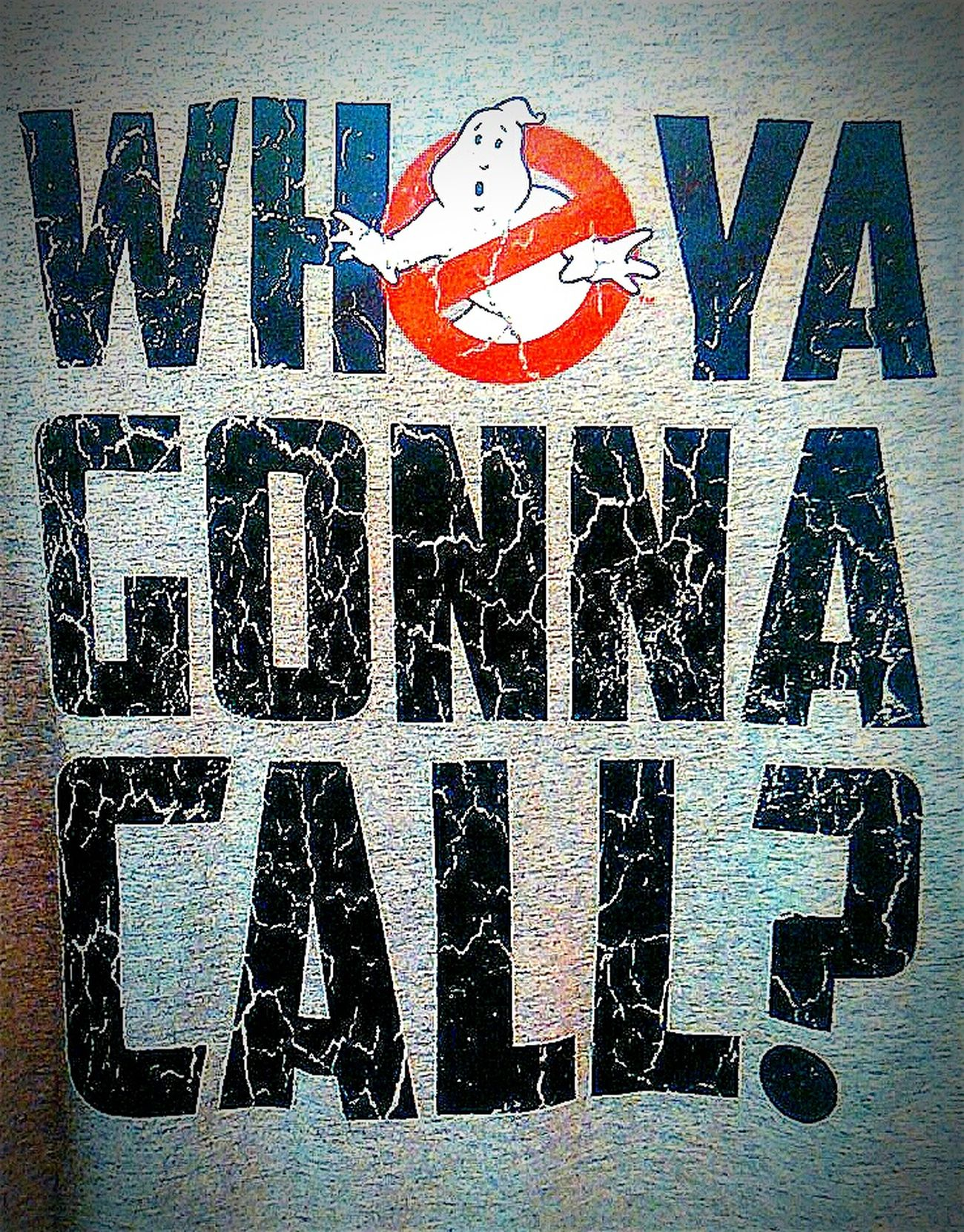 Ghostbusters I Aint Afraid Of No Ghost Ghost Ghost Busters Who Ya Gonna Call ? Ghosts MOVIE T Shirt Tshirt Ghost Hunting