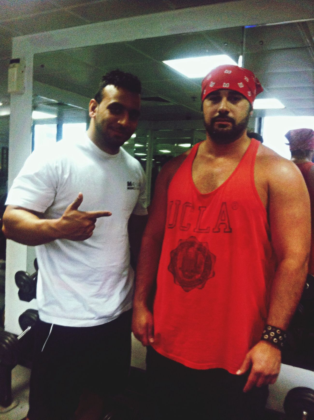 Me and capten khaled
