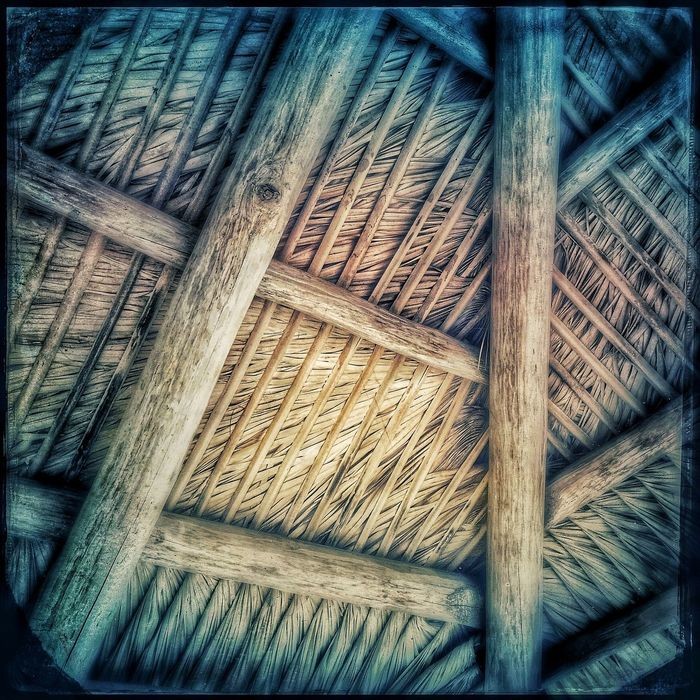 Under a Thatched Roof Hut IPStexture2016