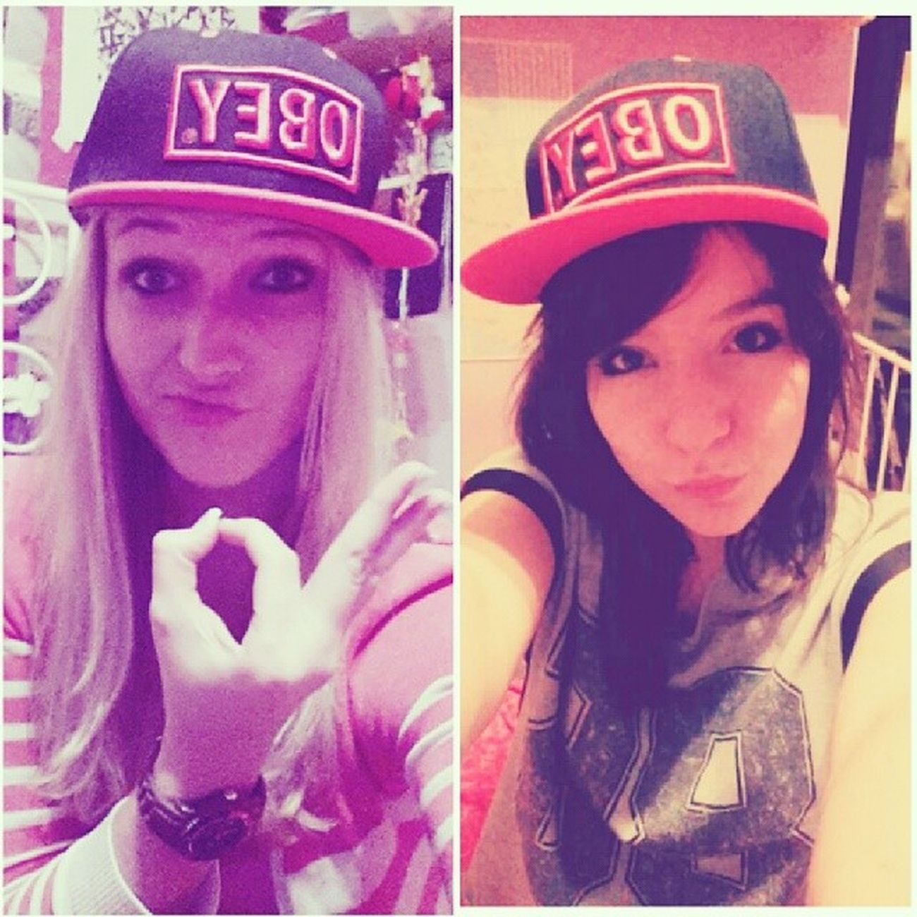 HIPSTER YOLO SWAAAG Mein Mädchen MyGIRL Möchtegern cool yolo hipster swag obey duckface loveyou fun friendship blabla followme like picoftheday 20likes goldstück instalangeweile