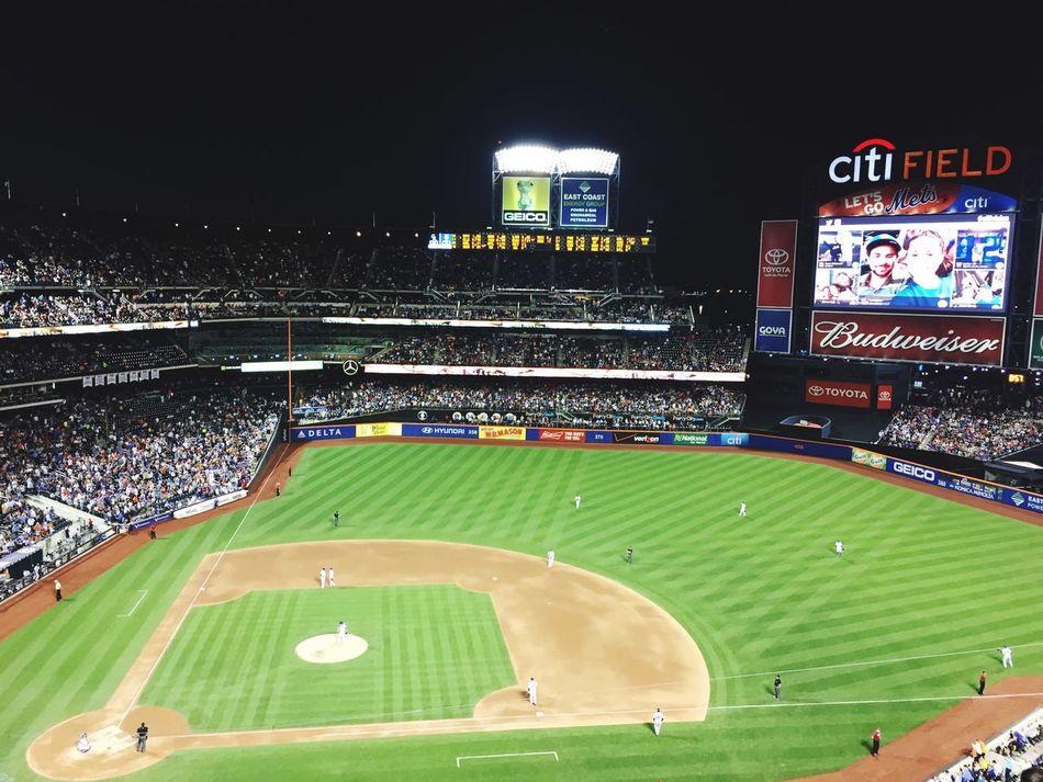 Baseball Home Run Game New York Mets
