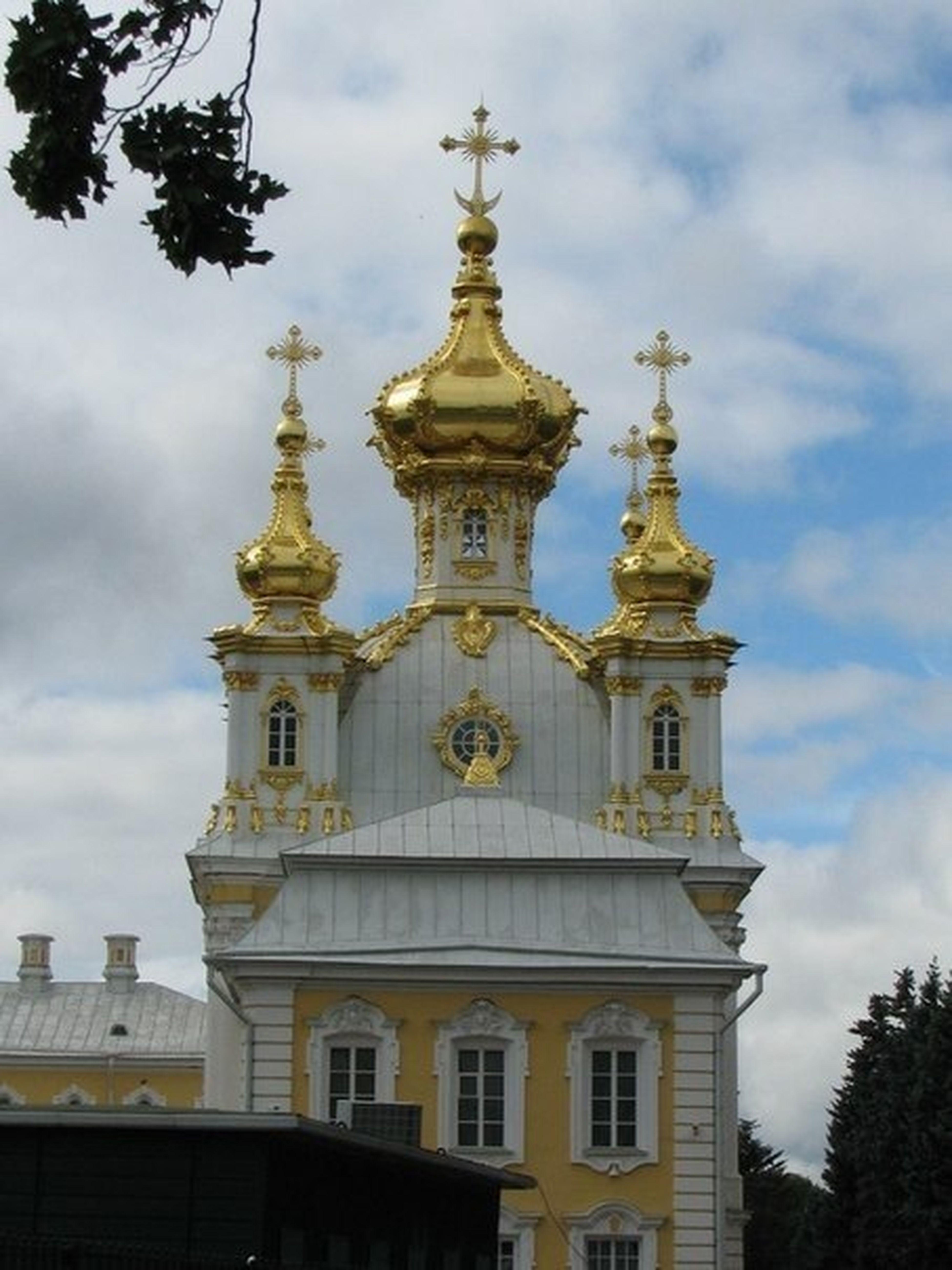 Петергофф , лето