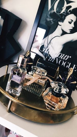 Perfume Abercrombie & Fitch  Lancome VSCO Close-up Home Interior No People Day Young Adult Beauty Chloe Decoration