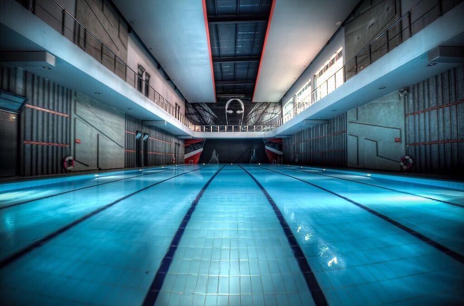 Symmetrical Landscape in Fitnesstime Gym