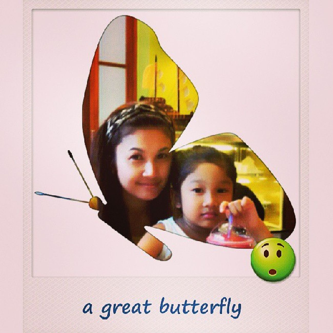 A great butterfly...