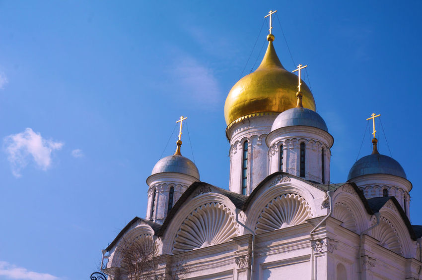 2014 Architecture Cathedral Of The Archangel Church Cremlin Day Moscow Red Square Religion Roof Rooftop Russia Russia Orthodox Church Sky World Heritage Архангельский собор アルハンゲルスキー聖堂 モスクワ ロシア 教会 聖天使首大聖堂 赤の広場
