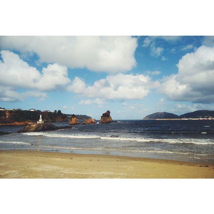 Viveiro nunca falla, menuda noche épica joder 💜 Viveiro Galiza Sea Beach Winter Cliffs