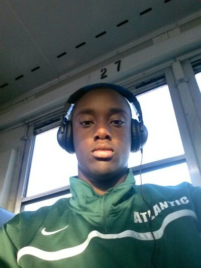 Heading to the game. AtlanticBasketball #24