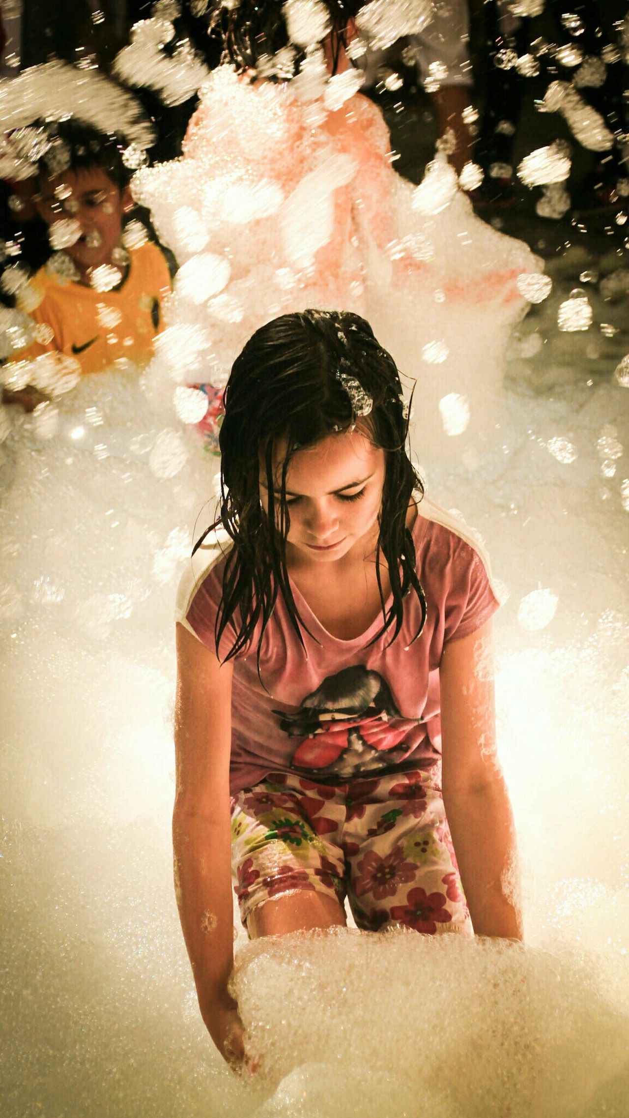 One Person Underwater Summer Enjoyment Outdoors Girl Beauty People light and reflection Fiesta De La Espuma Fiestas De Pueblo Village Life Village Party Light And Shadow Portrait Catch The Moment Foam Foamparty Foam Party Foam Art Check This Out EyeEm Gallery EyeEm Best Shots Enjoying Life Enjoy The New Normal My Year My View