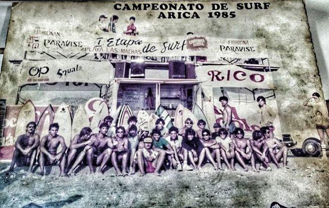 Campeonato de surf 1985 Fotografo : desconocido Integrantes : desconocidos HDR Tonoexterior Surf Vintage 1985 Arica 📷🏄
