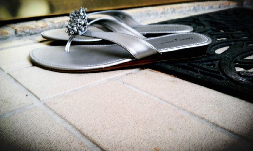 Leaving my shoes / at your hearts door / for there / I have found my home #micropoetry