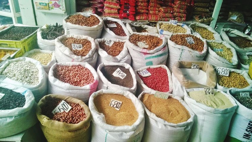 Market grains Markets Around The World Souks Grains Arabian Spice Visual Feast Visual Feast Connected By Travel