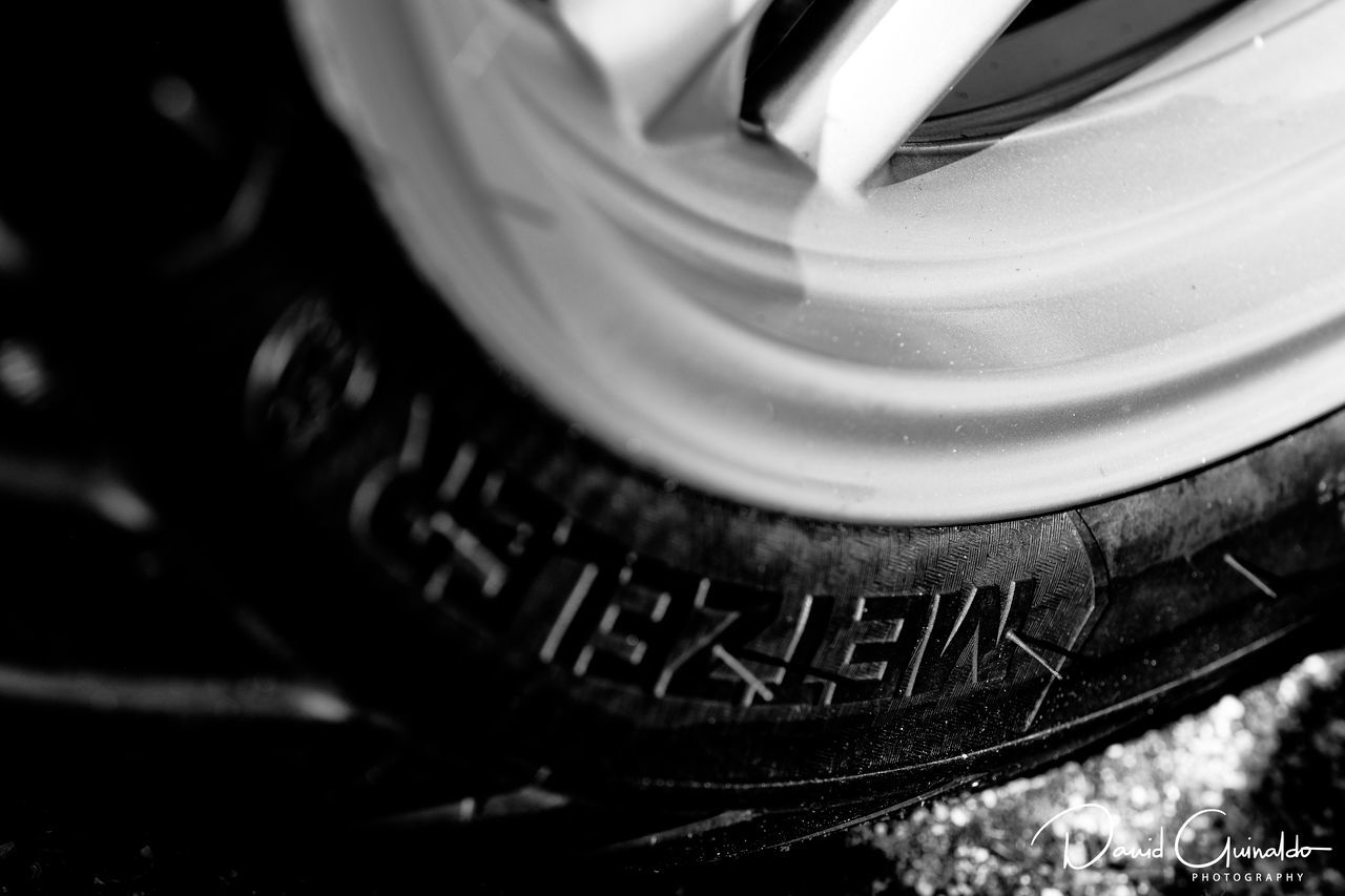 Black Black & White Black And White Blackandwhite Close-up Motobike No People Speed Tyre