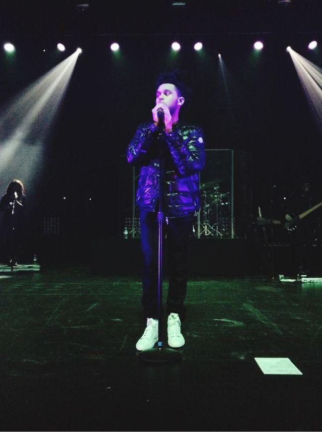 The Weeknd Abel Tesfaye  Concert Memories Belgium First Row