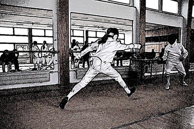 Fencing Fechten Fechter Hochschulmeisterschaft Aachen