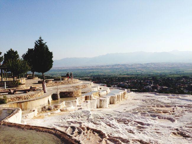 Pamukkale Naturalpool Unesco World Heritage Turkey