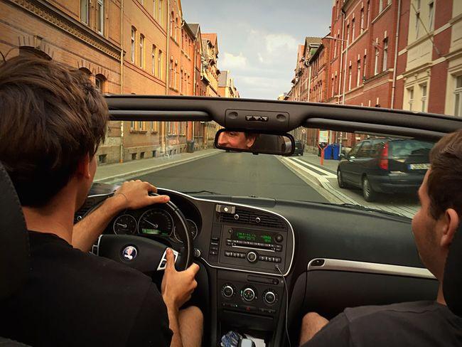 MeinAutomoment Taking Photos Cabrio Cruise Saab Deutschland Germany