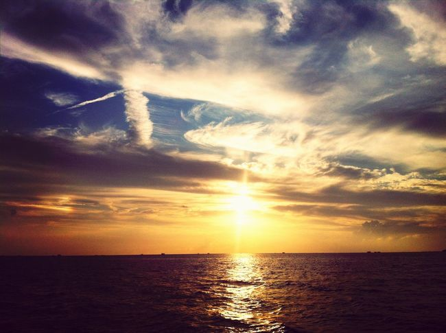 Enjoying The Sun Sunset_collection Starting A Trip