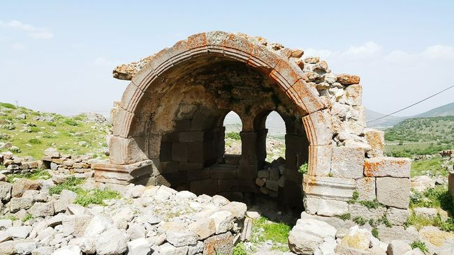 Değle ören Yeri Ancient Ruins Ancient City Ancient KARADAĞ Church