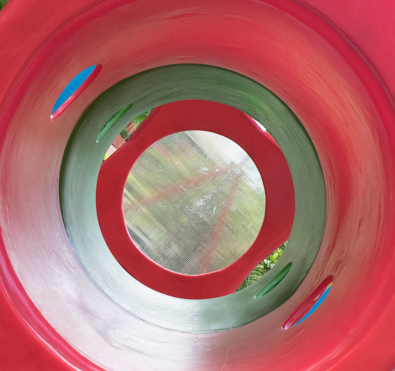 Abstract Backgrounds Circle Close-up Day Detail Full Frame Geometric Shape Modern Multi Colored No People Part Of Red Repetition Spiral