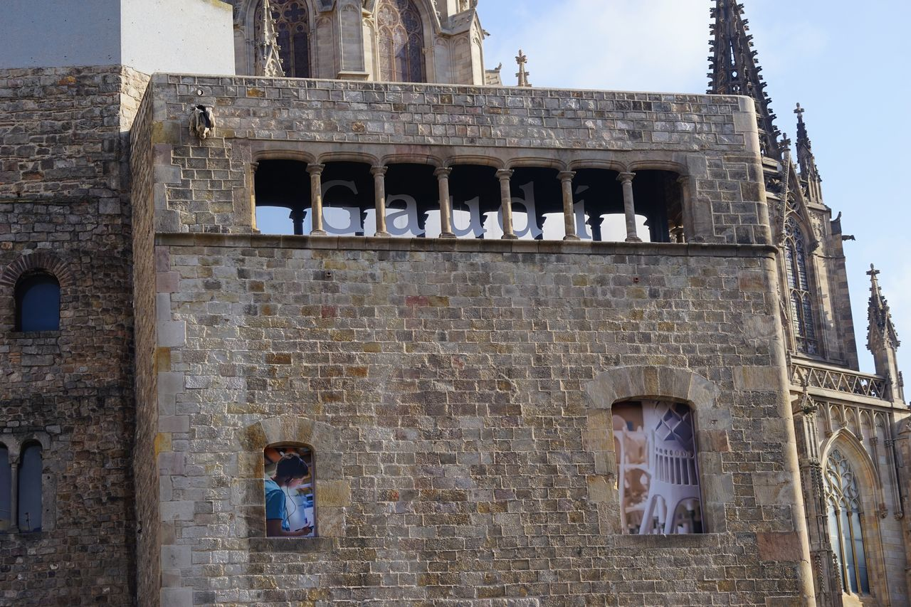 Architecture Building Exterior Built Structure Day Gaudi History No People Outdoors Sky