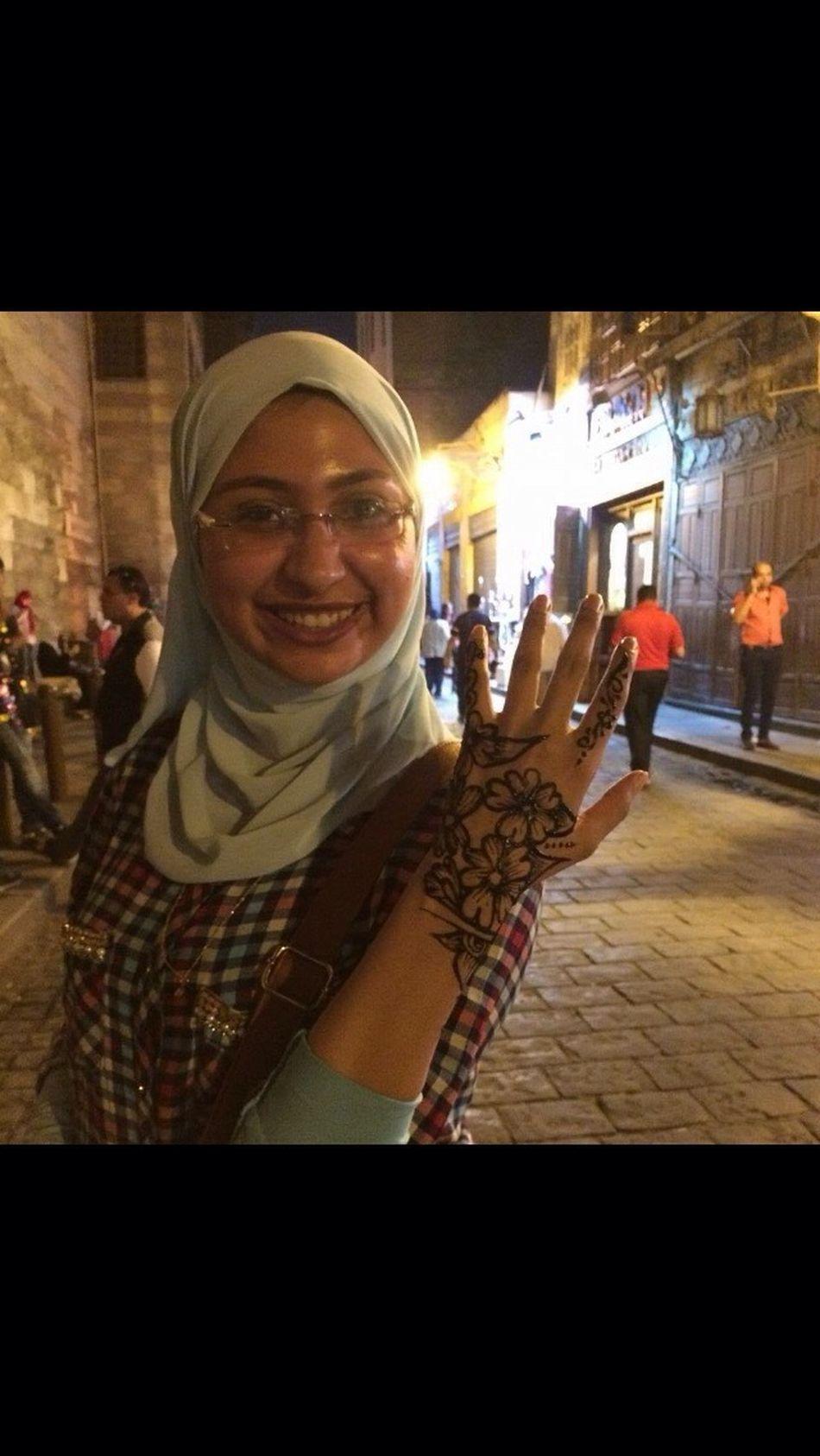 My Year My View Cairo Egypt Elmoezstreet Henna Tattoo ❤ Love Smile