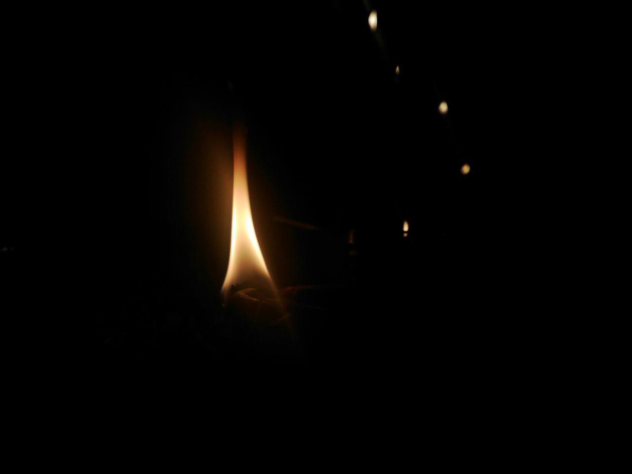 flame, burning, night, heat - temperature, close-up, illuminated, no people, outdoors, diya - oil lamp, black background, nature, astronomy