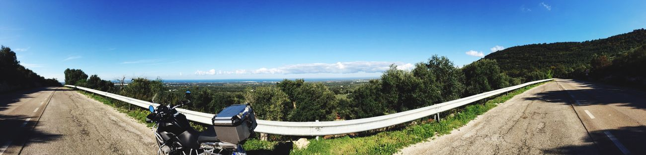 Hallo Myworld That's Me Panorama Landscape Apúlia Road Sea And Sky Awesome Relaxing Enjoying Life