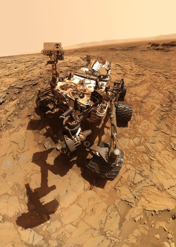 Curiosity Rover Planet Mars Beauty