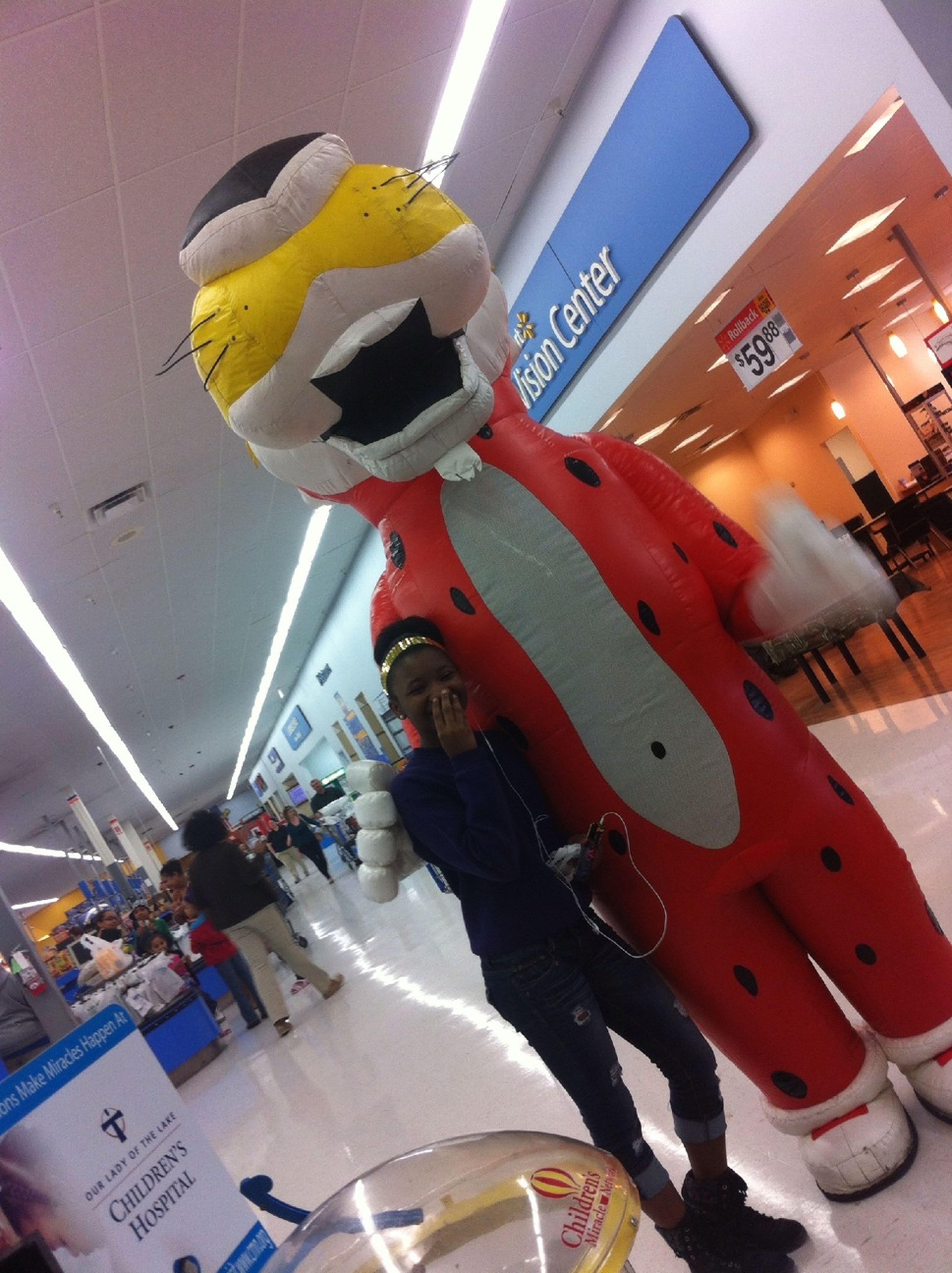 Was Thuggen In Walmart