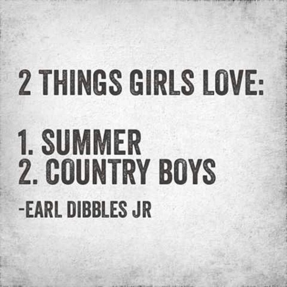 GottaLoveSummerAndCountryBoys !