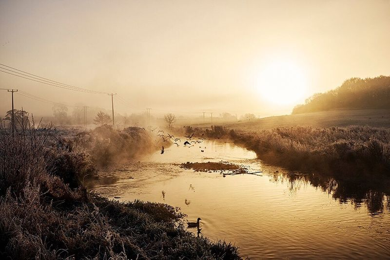 Bedaschmid Photography Nature Water Sky Beauty In Nature Outdoors United Kingdom England Landscape Transportation Sunlight Emirates Travel Fineart Firstclass Vogue Phaseone