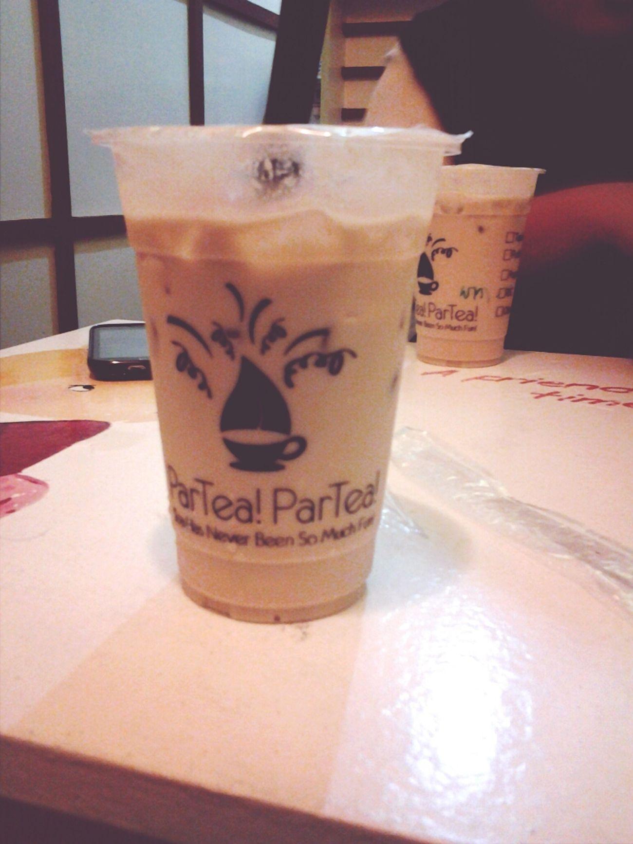 who loves milk tea like I do :) Food Teatime Taking Photos Drinks