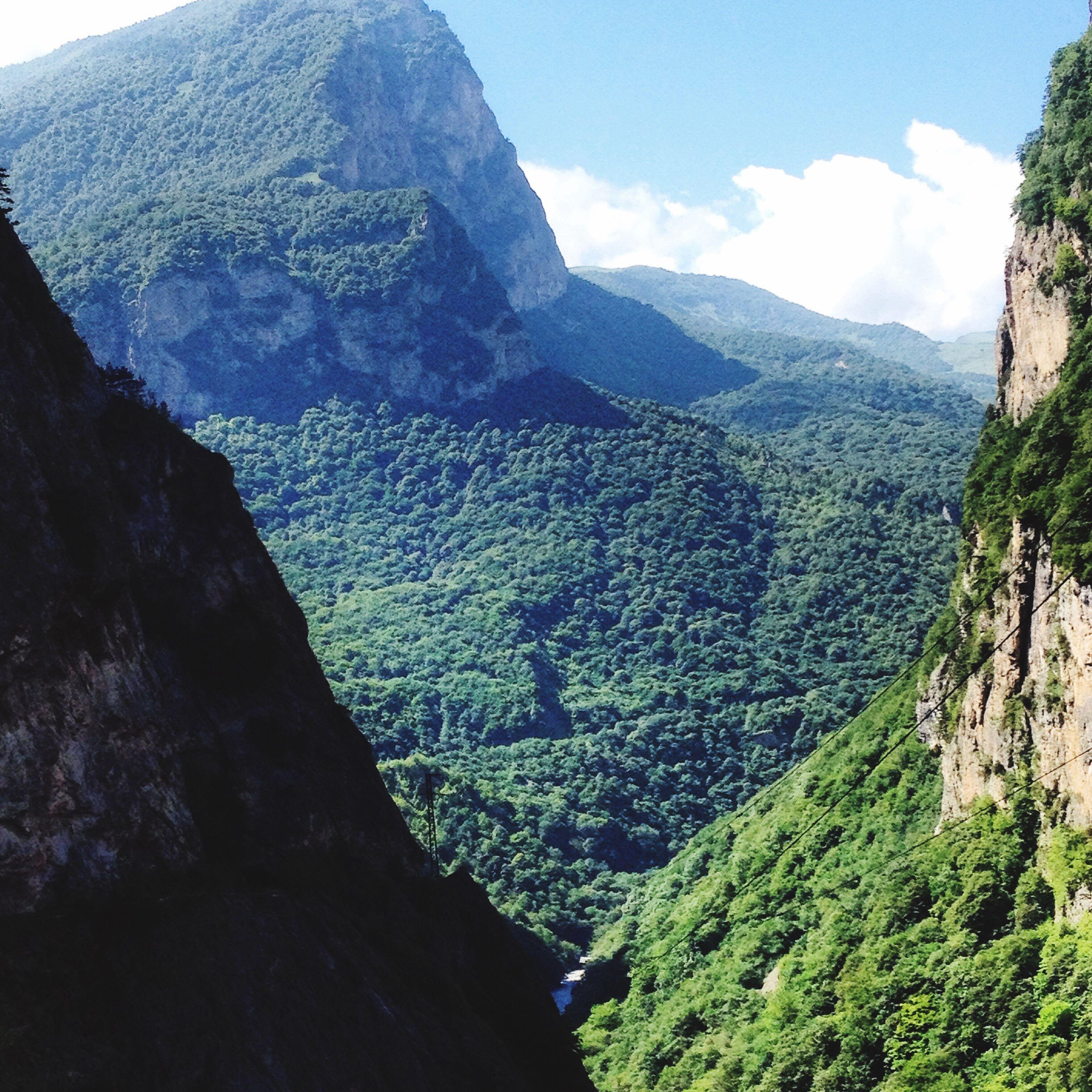верхняя балкария Кавказ Кавказский каньон