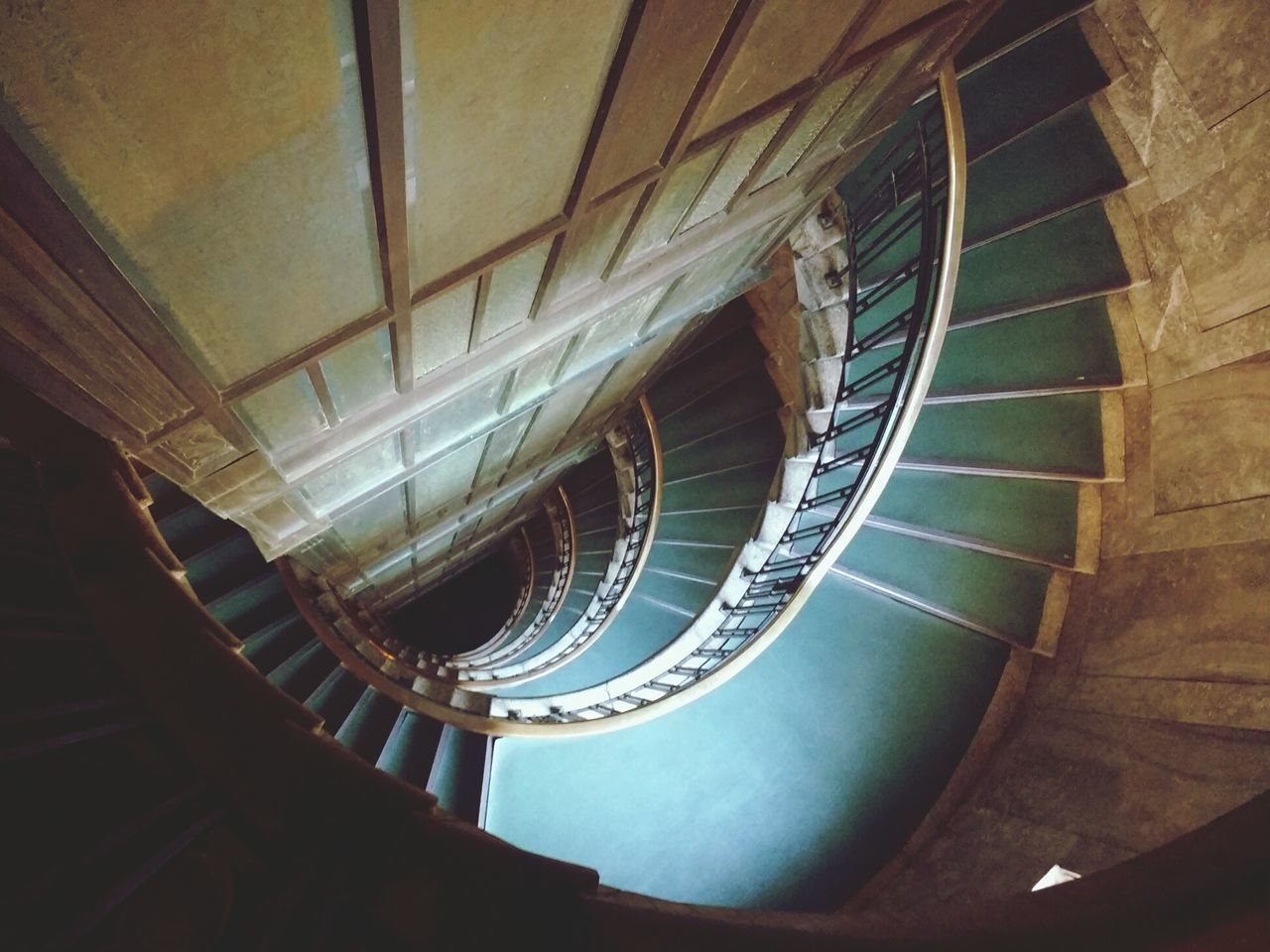Staircase Railing Architecture Spiral Steps Spiral Staircase Steps And Staircases Luxury Built Structure Indoors  No People Close-up Day