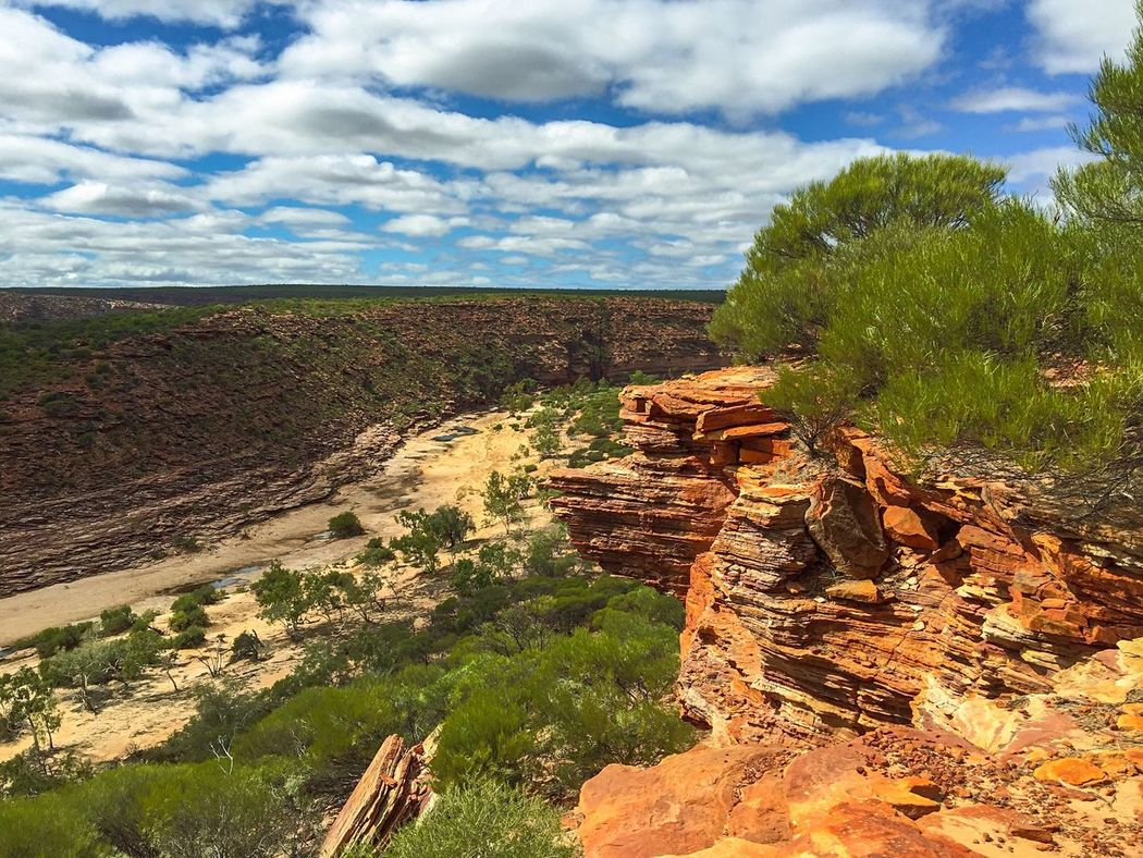 Stunning Kalbarri: Western Australia Nature Textures Layered Rock Landscape Western Australia Australia Nature's Design The Great Outdoors With Adobe Travel Photography Sandstone Nature's Diversities Hiking Kalbarri Geological Nature Gorge Rock Valley Red Rock Elevated View Scenics Land Peaceful View Plants 🌱 Landscape_Collection The Great Outdoors - 2016 EyeEm Awards