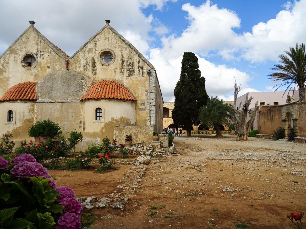 Arkadi Monastery Crete Greece History June 2016 Kreta Monastery Travel