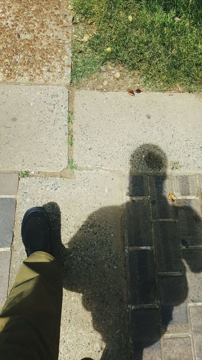 I love walking. it's the best form of exercise. keep walking. and you'll never get old. Eyeemnaturelover Essence Of Summer Capture The Moment Taking Photos Sunshine ☀ On The Way Sunlight Reflection Walking Alone... Walk Walk This Way Legselfie Shadow Ground Vansshoes Sunlight, Shades And Shadows Step By Step My Commute-2016 EyeEm Photography Awards From My Point Of View Snapshots Of Life Afternoonvibes Chilling Browntrousers light and reflection Myshadow The City Light